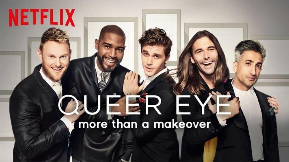De cast van Netflix-serie Queer Eye