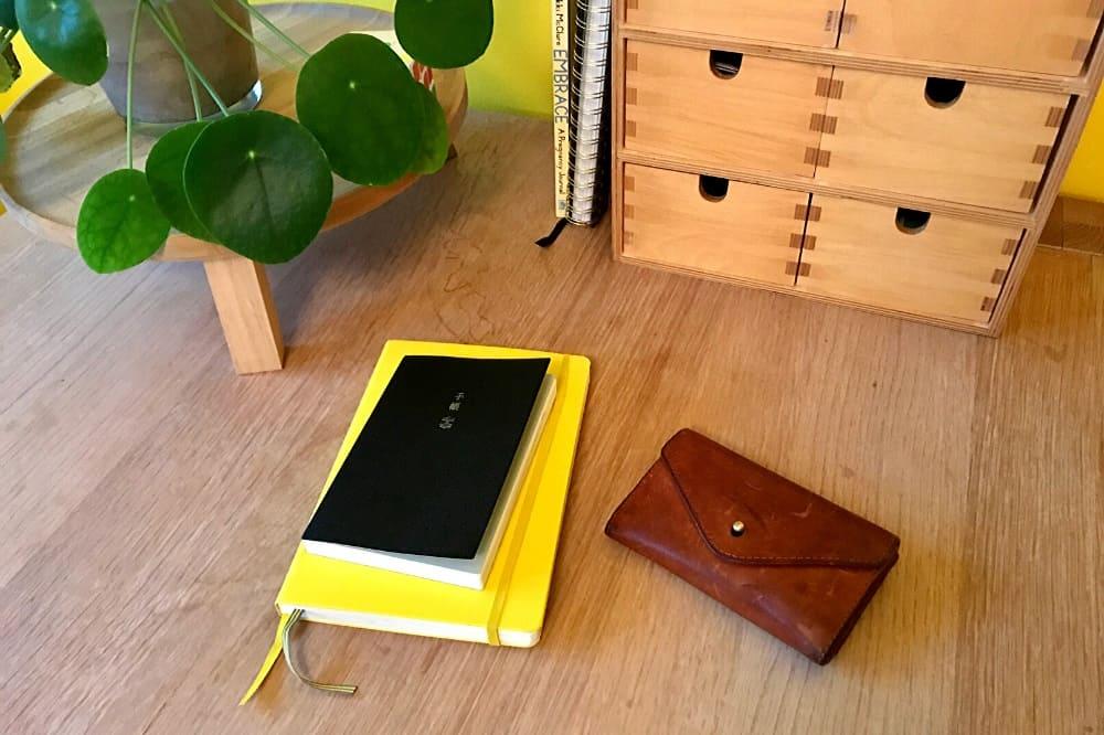 Mijn notitieboek, agenda en portemonnee: luxe dingen die ik ondanks mijn studieschuld graag blijf kopen